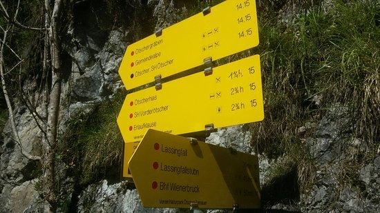 Wienerbruck, Østerrike: Tormauern und Ötschergräben