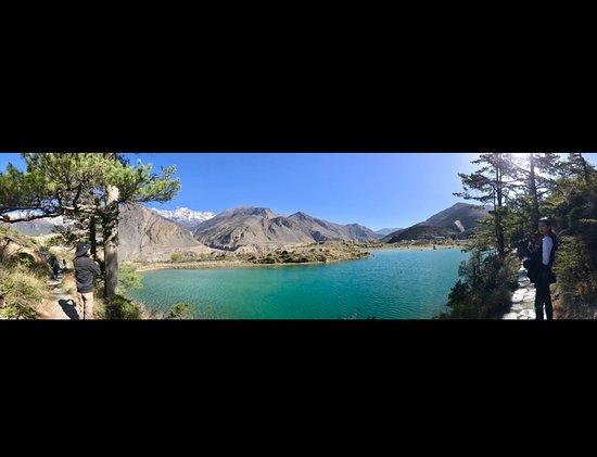 Jomsom, Nepál: Dhumba Lake
