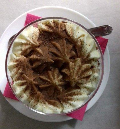 Manso, ฝรั่งเศส: Tiramisu au chocolat