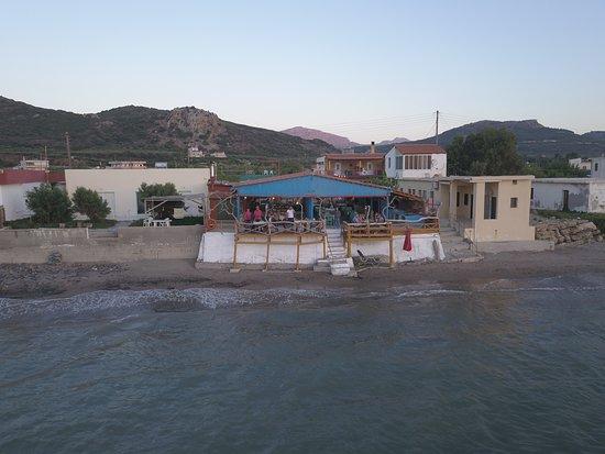 Nopigia, Grèce: Foto dal mare