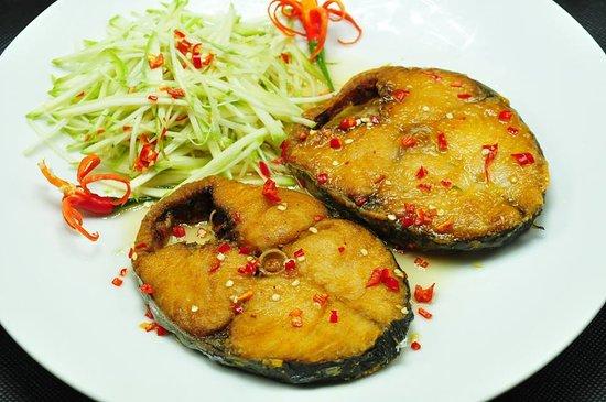 CÁ THU CHIÊN NƯỚC MẮM XOÀI - Picture of Hoa Viet Restaurant, Ho Chi Minh  City - Tripadvisor