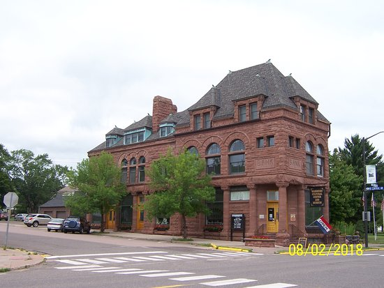 Washburn, WI: The Museum is in this building on the 2nd floor