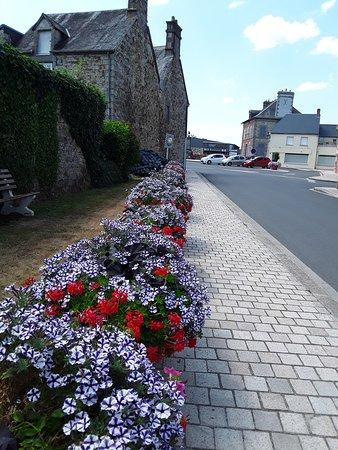 Juvigny-sous-Andaine, Francia: Le fleurissement du village