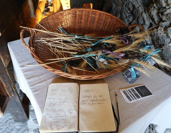 Molino Maufet: Gästebuch