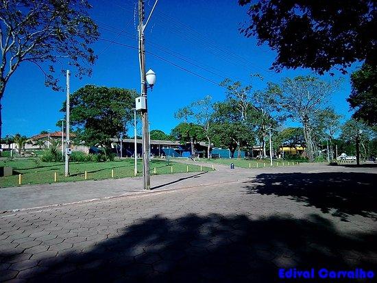 Praça João XXIII, em Cidade Gaucha-Paraná