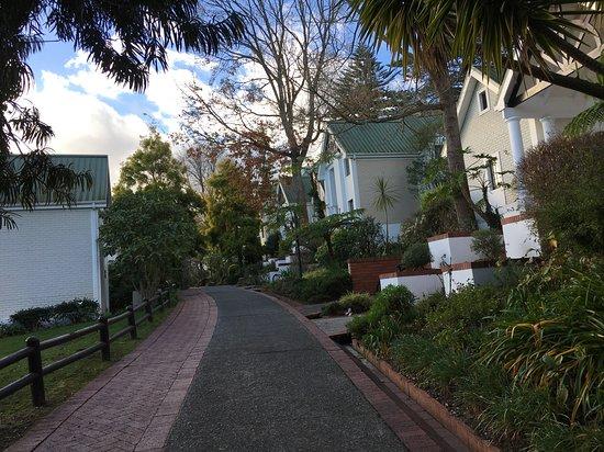 Fancourt: Rua interna das vilas