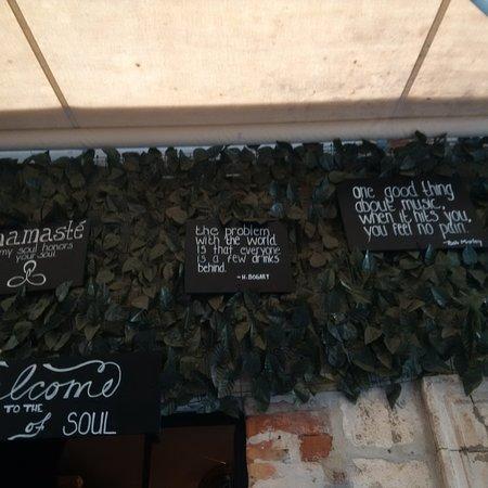 Soul Caffe : Mottos to live by...