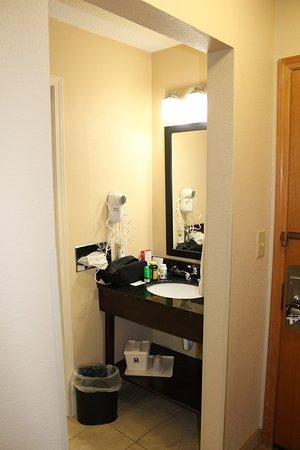 Bourbonnais, IL: Sink, bathroom separate