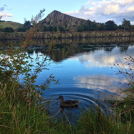 Haltwhistle, UK: Peaceful evening hike