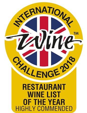 Little Bedwyn, UK: Wine Award