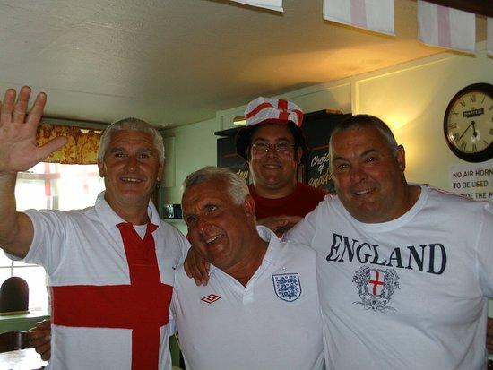 Rolvenden, UK: World cup fun