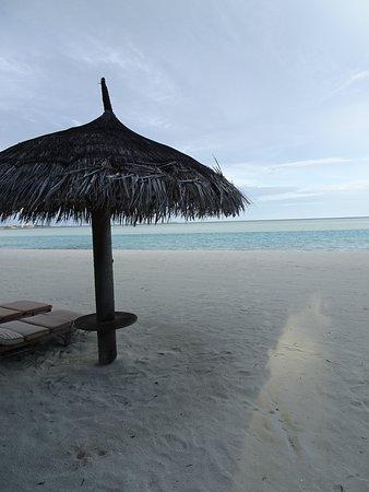 遠浅の透明な海。子供にやさしいリゾート