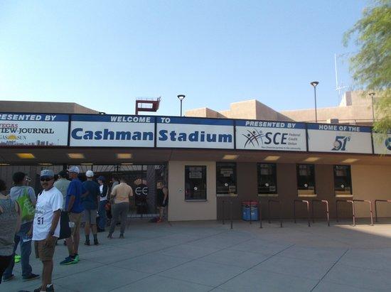 Cashman Center: Cashman Field Ticket windows....