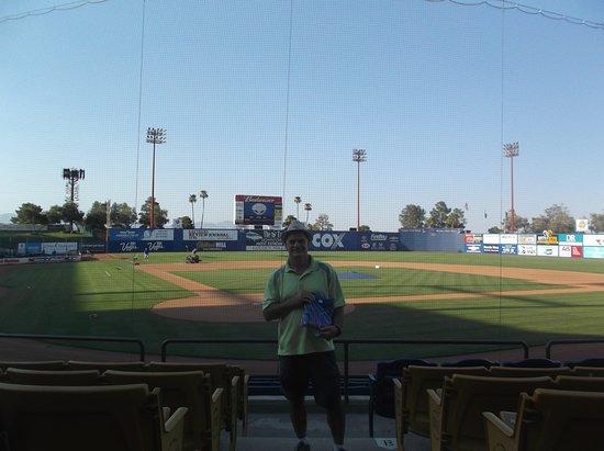Cashman Center: Cashman Field...Behind home plate...