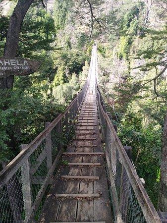 Curarrehue, Chile: Pasarela Puente Basa Grande