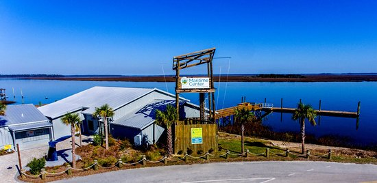 Beaufort, SC: Port Royal Sound Foundation Maritime Center on Chechessee River