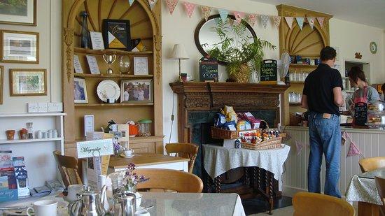 Marwood, UK: Part of the Tea Room & Trophy Cabinet