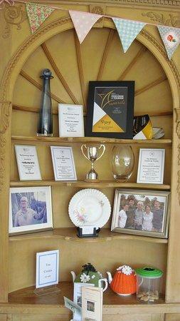 Marwood, UK: The Trophy Cabinet