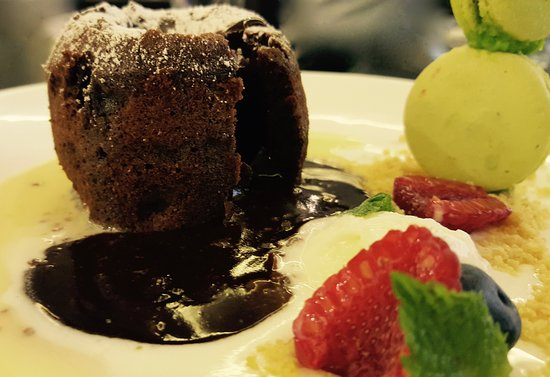 """A """"vraiment liquid"""" chocolate bomb! To die for!!!"""