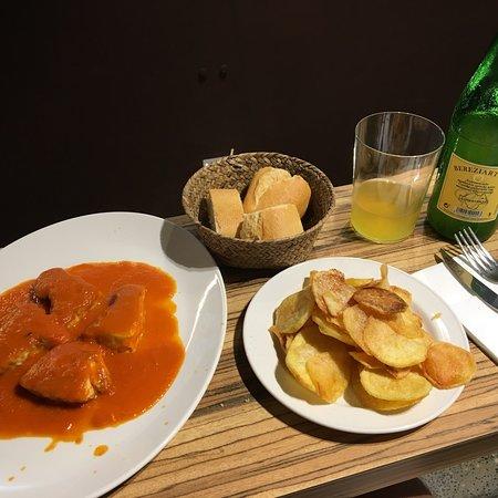 Restaurante bar oliyos en san sebasti n con cocina otras cocinas espa olas - Cocinas san sebastian ...