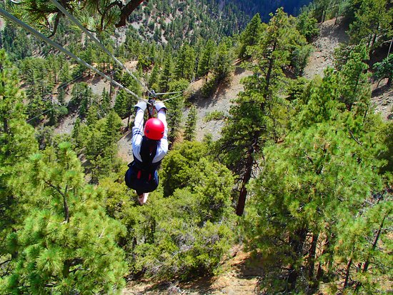 Wrightwood, Kalifornien: One of the courses!