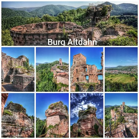 Altdahn Castle: Burg Altdahn