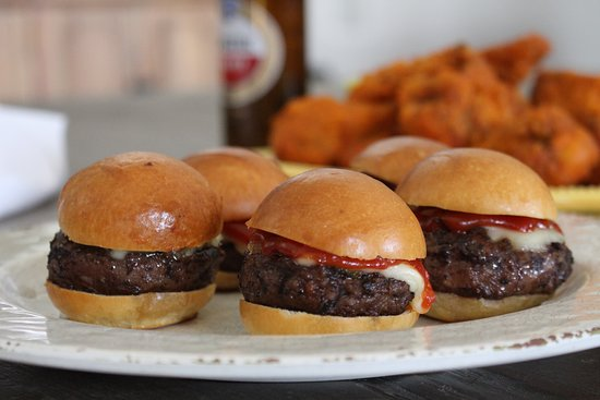 Darien, CT: Mini sliders
