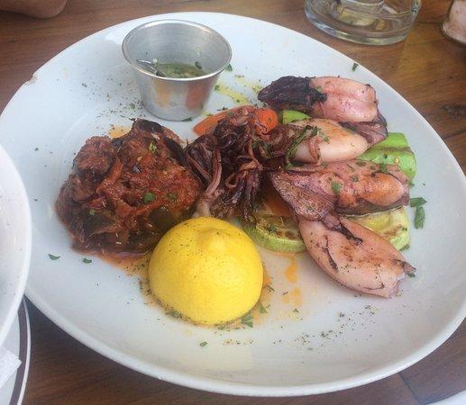 Stari Bar, Μαυροβούνιο: Octopus - well made.