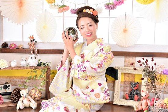 Edogawa, Nhật Bản: kimono photo shoot