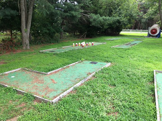 Port Republic, NJ: Mini golf course