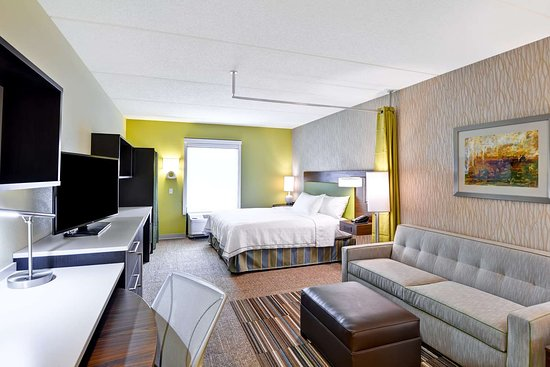 Home2 Suites by Hilton Dickson City Scranton: Guest room