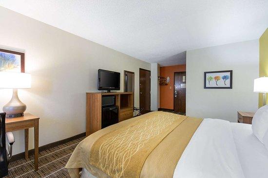 Stephens City, VA: Spacious guest room