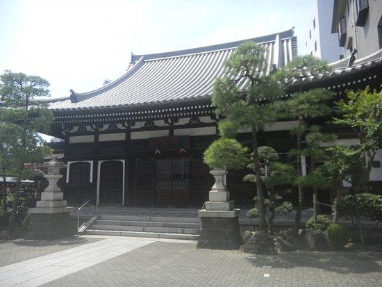 Kawasaki, Japan: 宗三寺の本堂です