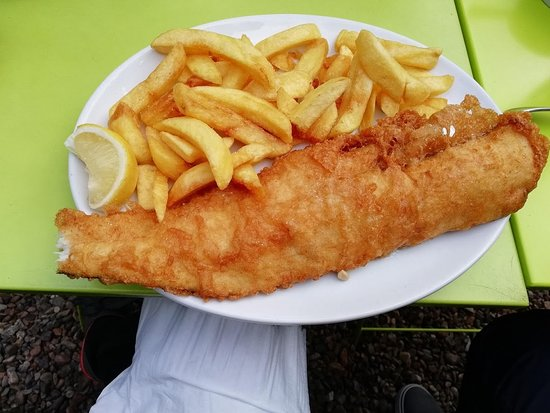 Fishers Fish and Chips: fish and chips