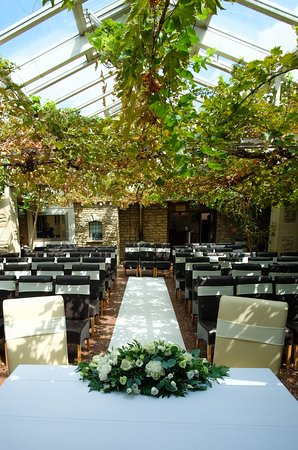 Tormarton, UK: wedding venue interior