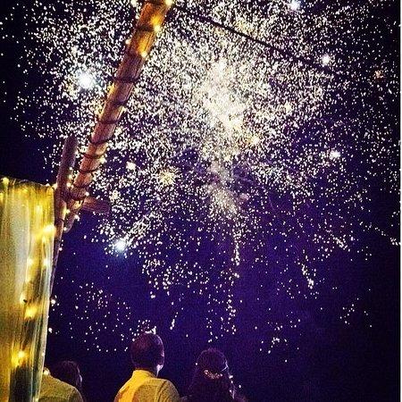 Fireworks at Vezalis