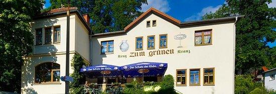 Sonneberg, Tyskland: Krug zum grünen Kranz