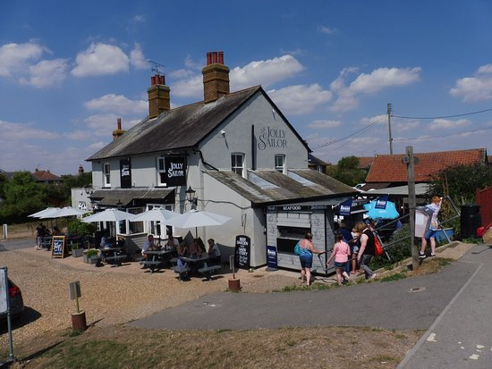 Heybridge, UK: A view from the front.