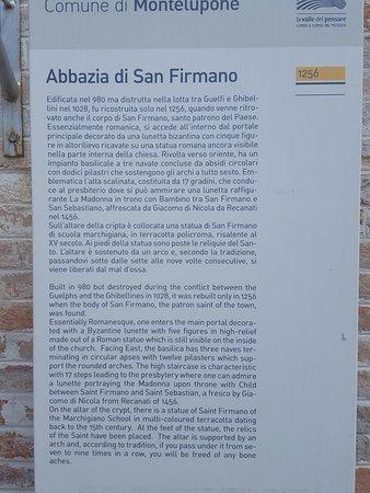 Abbazia Di San Firmano : 20180804_115458_large.jpg