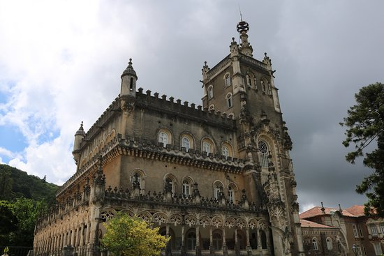 Bussaco, Portugal: palace
