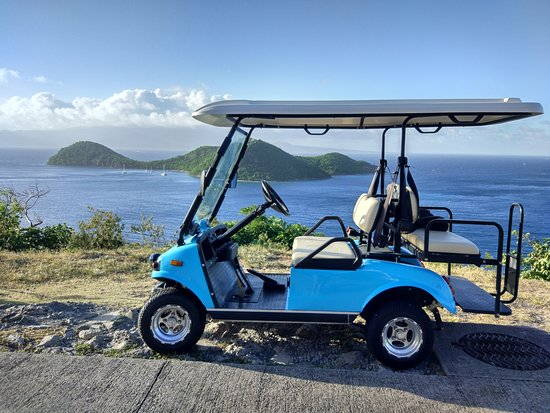 Terre-de-Haut, Guadalupe: Aqua-Blue Car modèle n°2