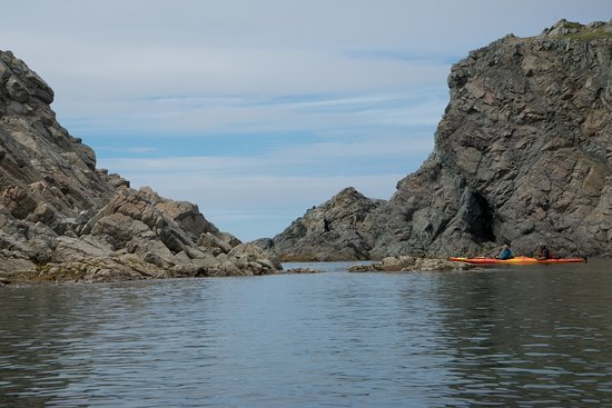 Twillingate, Kanada: between the rocky island