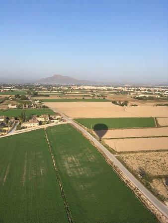 Elche, Hiszpania: View from balloon