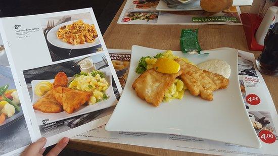 Nach Dem Einkauf Eine Warme Mahlzeit Xxxl Mann Mobilia Restaurant