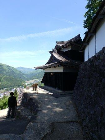 Haga Castle Historical Park : 城の外見