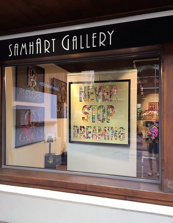 Exhibition AIIROH at Samhart Gallery GSTAAD