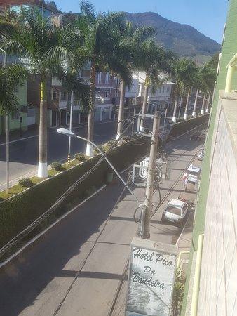 Espera Feliz: Vista da Varanda do Hotel