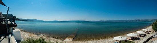 Larisos, Grecia: View over Geras Bay