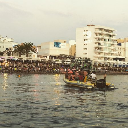 Sunset Boats Ibiza Photo