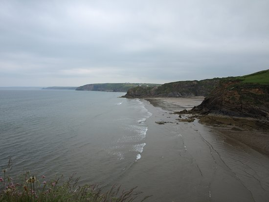 Haverfordwest, UK: View from cliff